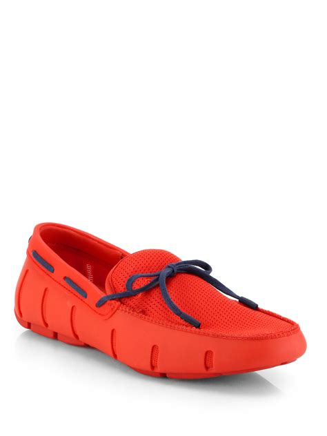 swims sport loafer swims sport lace up loafers in for lyst