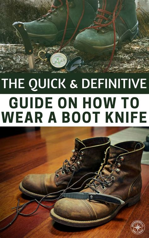 how to wear a boot knife the definitive guide on how to wear a boot knife