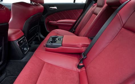 2012 dodge charger srt8 rear interior seats photo