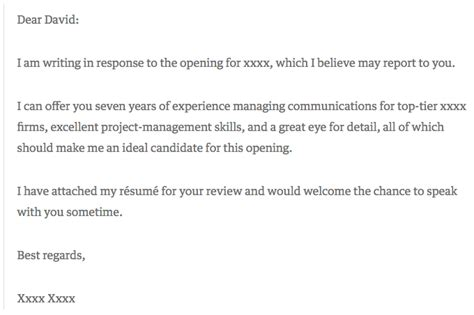 6 cover letter exles that got something right