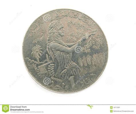 Blus Dinar un dinar de tunis image stock image 19777931