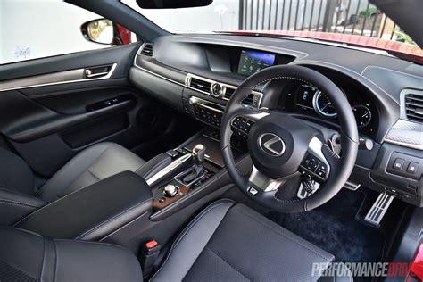 Lexus F Sport Interior by 2016 Lexus Gs 200t F Sport Review Performancedrive