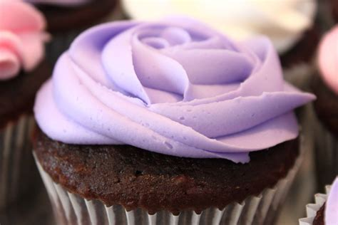 lavender colored cupcakes recipe dishmaps
