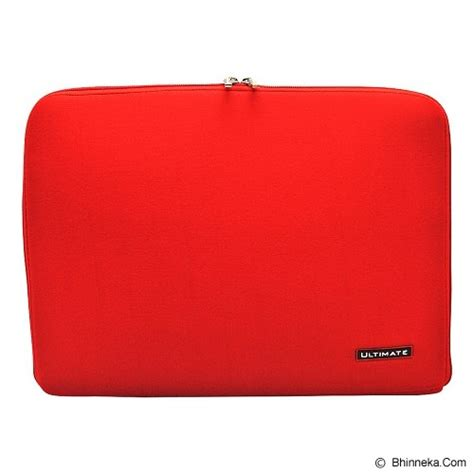 Tas Laptop Ultimate Softcase Notebook 10 Hitam jual ultimate softcase notebook plain classic 12 inch