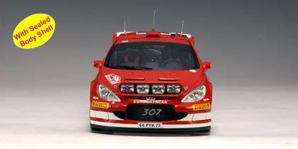 Peugeot 307 Wrc 8 Rally Sweden 2005 143 Ixo autoart 2005 peugeot 307 wrc m martin m park 8 80555