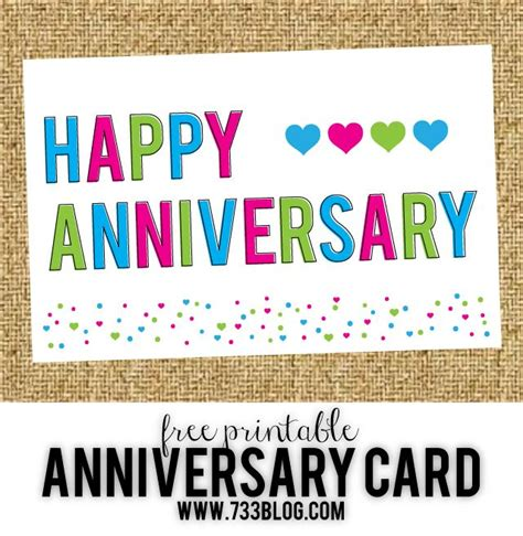 printable anniversary card for my husband best 25 free printable anniversary cards ideas on