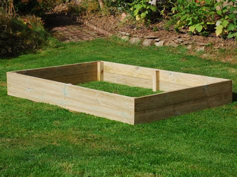 Wooden Raised Garden Bed Kits by 6ft X 4ft Wooden Raised Bed Kit Access Garden Products