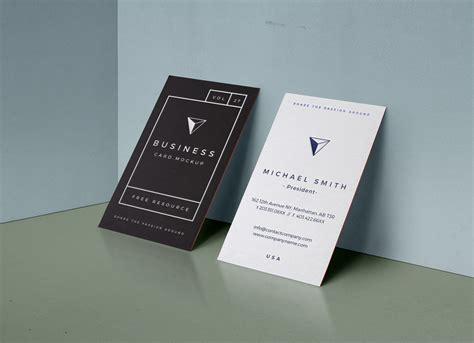 letterpress business card psd mockup template free letterpress vertical business card mockup psd