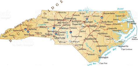 carolina map of cities and towns map of carolina with cities and towns marked