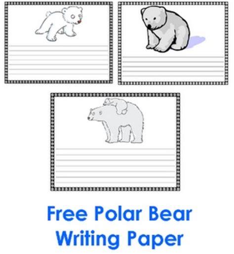 polar writing paper 1000 images about polar arctic crafts activities