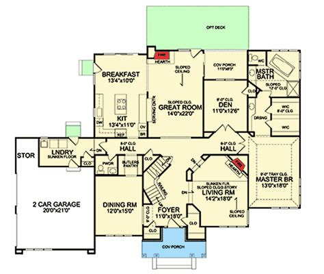 House Plans With Sunken Living Room by Beautiful Sunken Living Room 3879ja Architectural