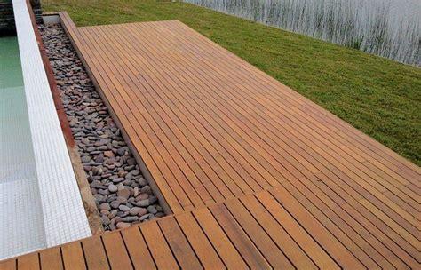 deck madera deck de madera y plastico arquitectura y dise 241 o en madera