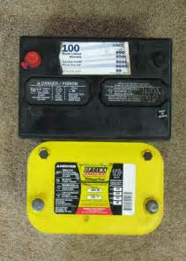 Battery For Acura Mdx Optima Yellow Top Battery Installation Truck Trend