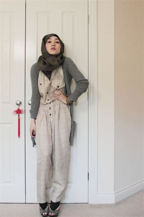Dress Muslim Hana hana tajima jumpsuit vintage style we