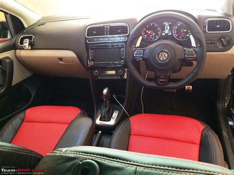 volkswagen polo modified interior my vw polo gt tsi modified page 2 team bhp