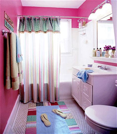 Teenage Girl Bathroom Decor Ideas | teenage bathroom design ideas 2017 grasscloth wallpaper