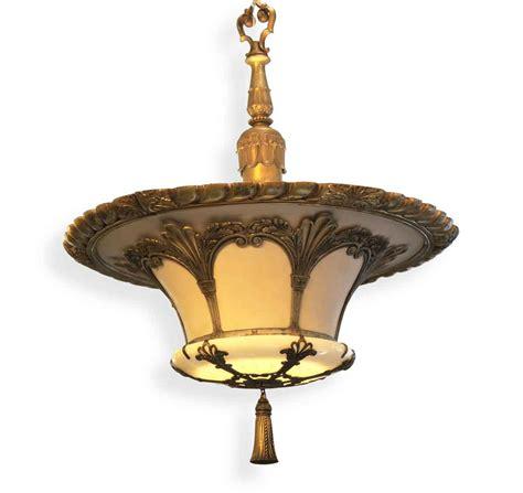 bronze glass pendant light deco bronze glass pendant up light olde things