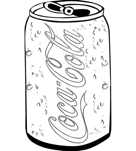 coca cola without coloring coca cola glass bottle sketch coloring page
