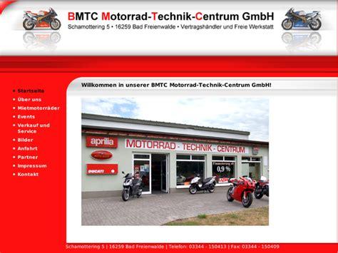 Sachs Motorrad H Ndler Hamburg by Bmtc Motorrad Technik Centrum Gmbh In Bad Freienwalde