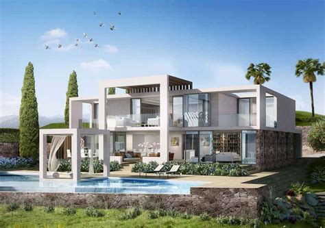 Townhouse Plans by Modern Properties In Marbella Modern Villas And Apartments