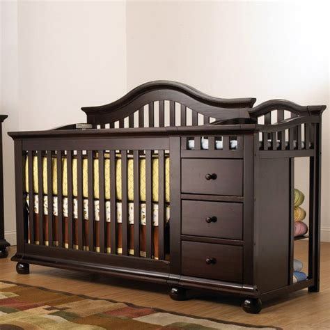 Cribs With Changing Tables by Sorelle Cape Cod Crib N Changer With Toddler Rail Cribs At Hayneedle