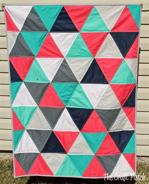 pattern for equilateral triangle 7 equilateral triangle quilts to inspire plus a pillow