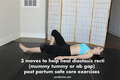 3 to heal diastasis recti ab separation from pregnancy