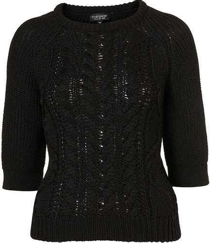 Cq Live Liverpool Bold Flashback Boutique by Knitted Cocoon Cable Jumper 9 Warm But Seriously