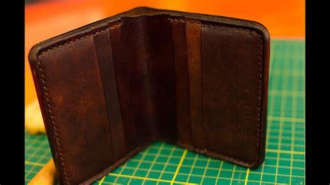 Carteira de couro feita à mão - Elegante - DiBentto - YouTube
