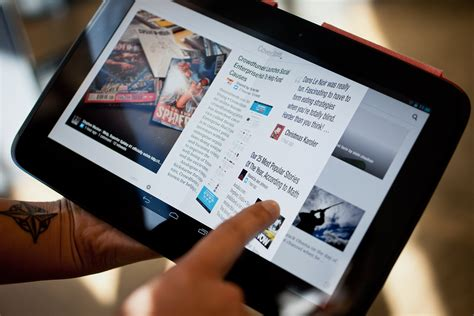 flipboard android flipboard proves again that android tablet apps don t to wired