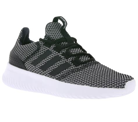 adidas neo cloudfoam ultimate shoes s sneaker trainers black bc0033 ebay