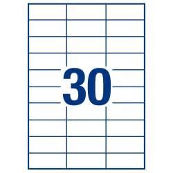 Wl 6950 rectangular labels size 2 25 x 0 75 labels per sheet 30 same