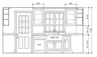 Kitchen Cabinet Elevation Drawings Kitchen Elevation Drawing Wesharepics