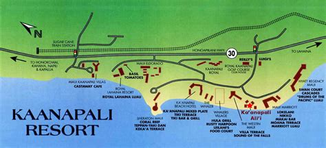 kaanapali resort map kaanapali alii vacation rental condos 949 645
