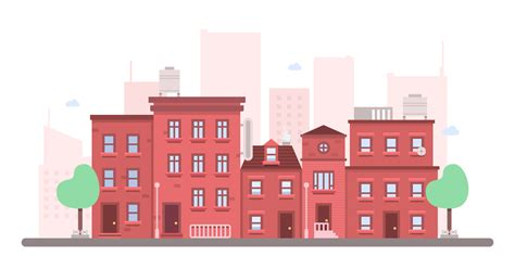 vector building tutorial how to create a flat cityscape in adobe illustrator