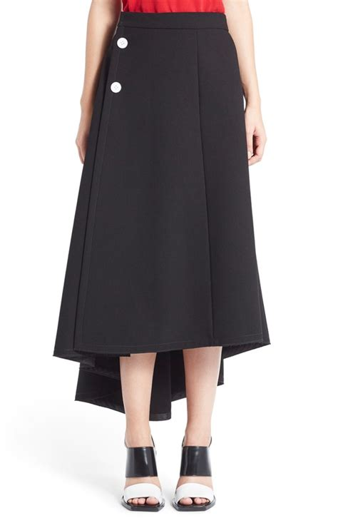 asymmetrical draped skirt marni goes back to nature with spring 2016 caign