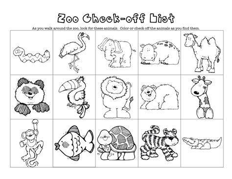 free printable zoo animal pictures printable zoo animals acp zoo theme of animals printables