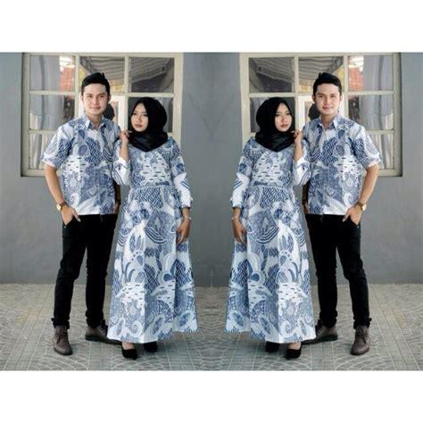 baju batik couple sarimbit kebaya gamis keluarga modern