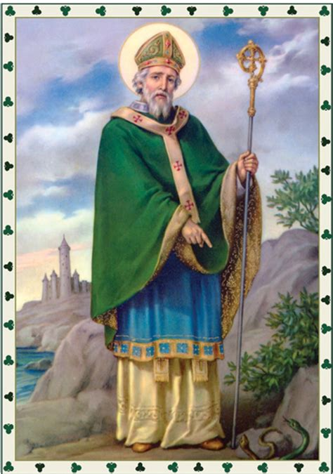 the history of st st the shamrock the faithful wellspring
