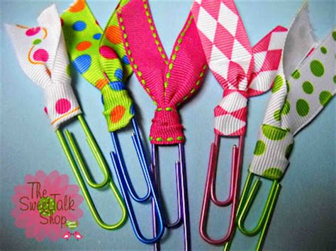 Paper Clip Craft Ideas - sweet easy paperclip bookmarks family crafts
