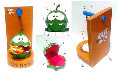 Cut The Rope Papercraft - image gallery rope papercraft
