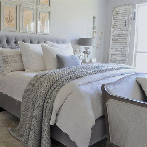 grey headboard bedroom ideas home tour blanket bedrooms and gray