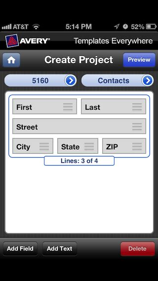 avery templates for pages ipad how to print mailing labels from an iphone or ipad 2012