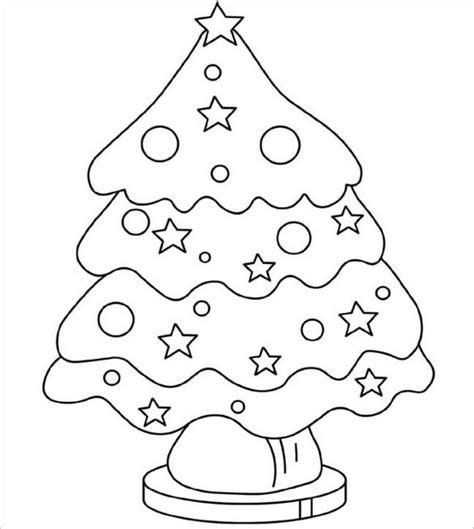 christmas tree coloring page template 23 christmas tree templates free printable psd eps