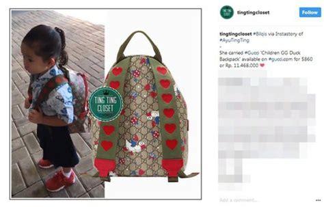 Tas Anak Backpack Duck harga tas anak ayu ting ting yang masih tk bernilai