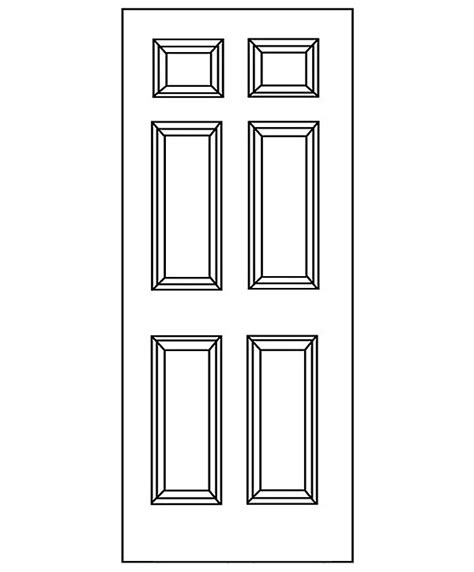 6 panel exterior doors 6 panel door exterior builders surplus