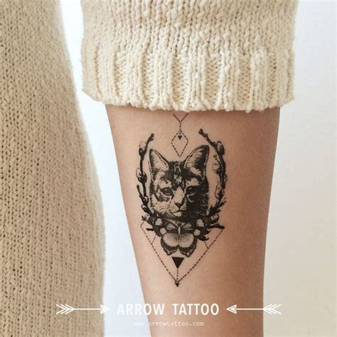 cat tattoo temporary 25 best ideas about cat tattoos on pinterest cat tatto