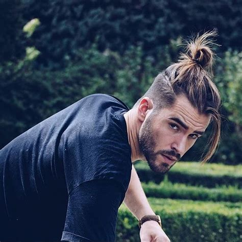 top knots hair length for men man bun 70 best man bun hairstyle and top knot cuts