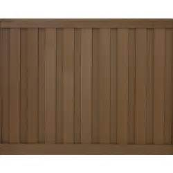 home depot privacy fence panels trex seclusions 6 ft x 8 ft saddle brown wood plastic