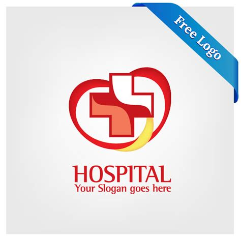 Free Eps Format Logos | free vector heart care hospital logo download in ai